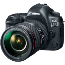 Canon EOS 5D Mark IV DSLR Camera 24-105mm F/4L II Lens
