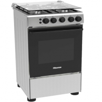 Hisense Free Stand Cookers 50CM All Gas Hot And Gas Oven HFG50111X